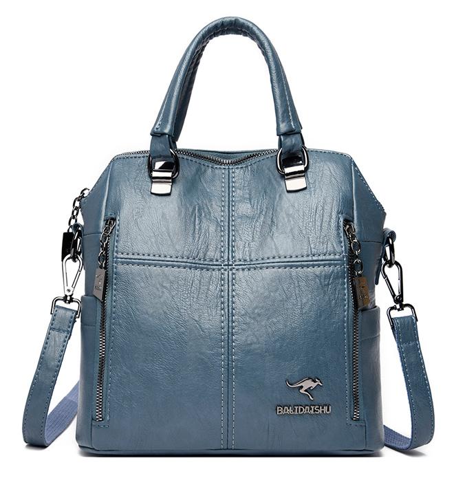 BALIDAISHU γυναικεία τσάντα ώμου 1319-BLUE, μπλε - BALIDAISHU 40198