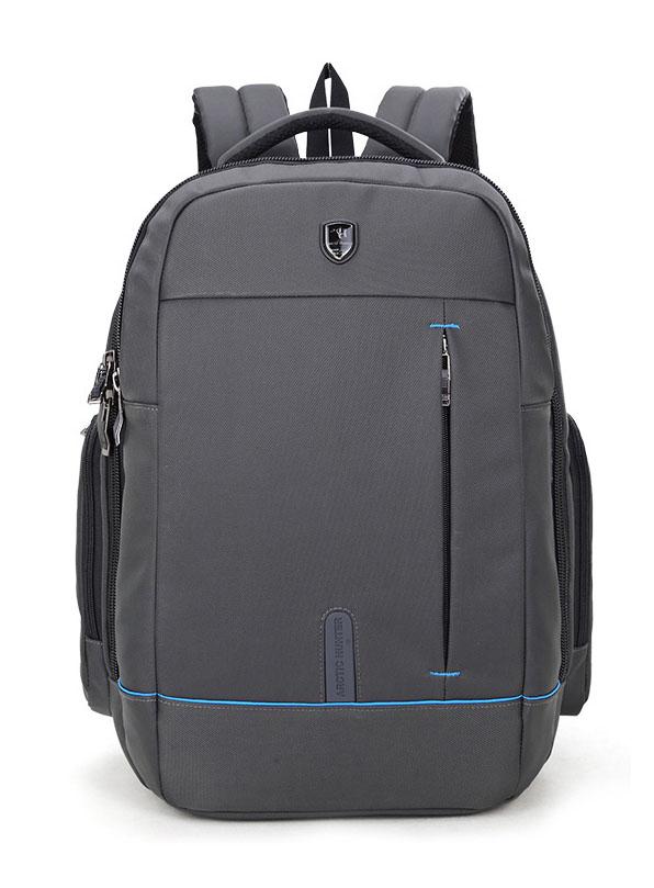 ARCTIC HUNTER τσάντα πλάτης 1500161-GY, laptop, αδιάβροχη, γκρί - ARCTIC HUNTER 22834