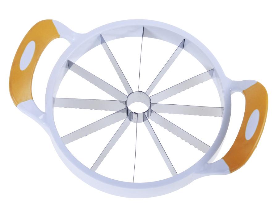GENIUS IDEAS κόφτης πεπονιού 150022, 19cm, λευκός - GENIUS IDEAS 30821