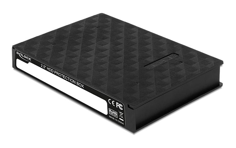 "DELOCK θήκη προστασίας για HDD 2.5"", μαύρη - DELOCK 23289"