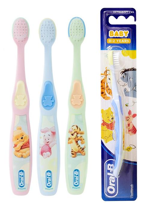 ORAL-B B παιδική οδοντόβουρτσα Baby, extra μαλακή, ποικιλία χρωμάτων - ORAL-B 30755