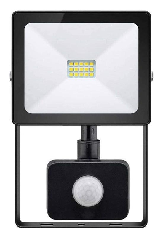 GOOBAY προβολέας με αισθητήρα κίνησης LED 39011, 10W, IP44, μαύρος - GOOBAY 37313