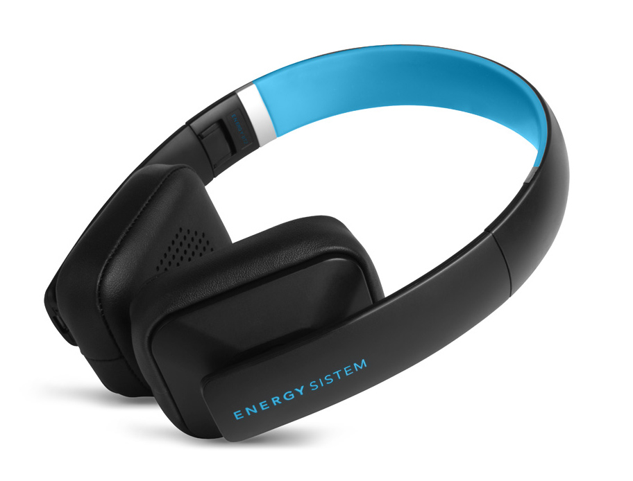 ENERGY SISTEM Bluetooth headphones BT2 με μικρόφωνο, 93dB, μαύρο-μπλε - ENERGY SISTEM 18640