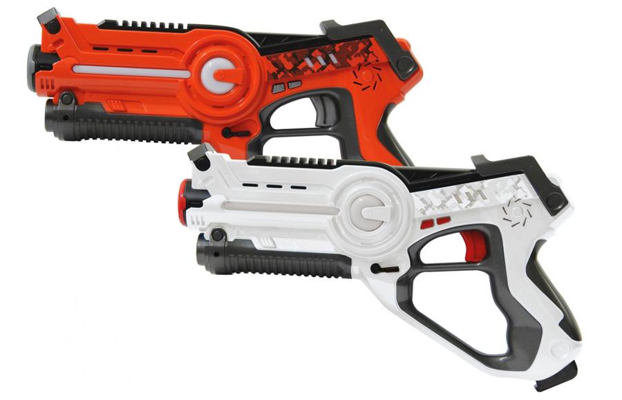 JAMARA Impulse laser set μάχης με ήχο, LED, δόνηση, 4 ρυθμίσεις όπλου - JAMARA 18292