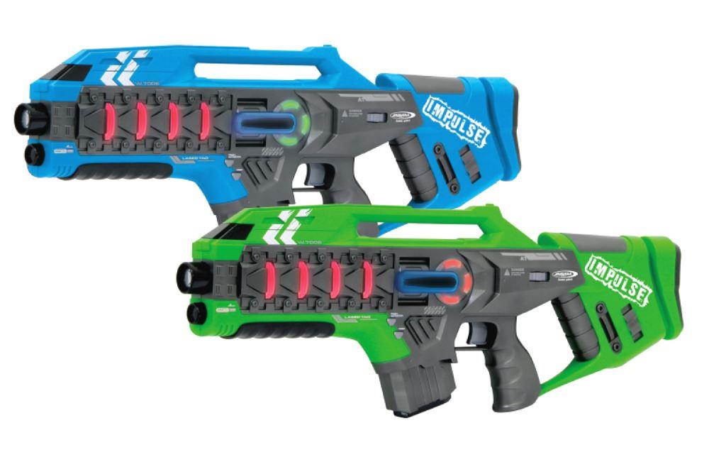 JAMARA Impulse Laser Gun Rifle set μάχης με ήχο, LED, δόνηση. - JAMARA 23229