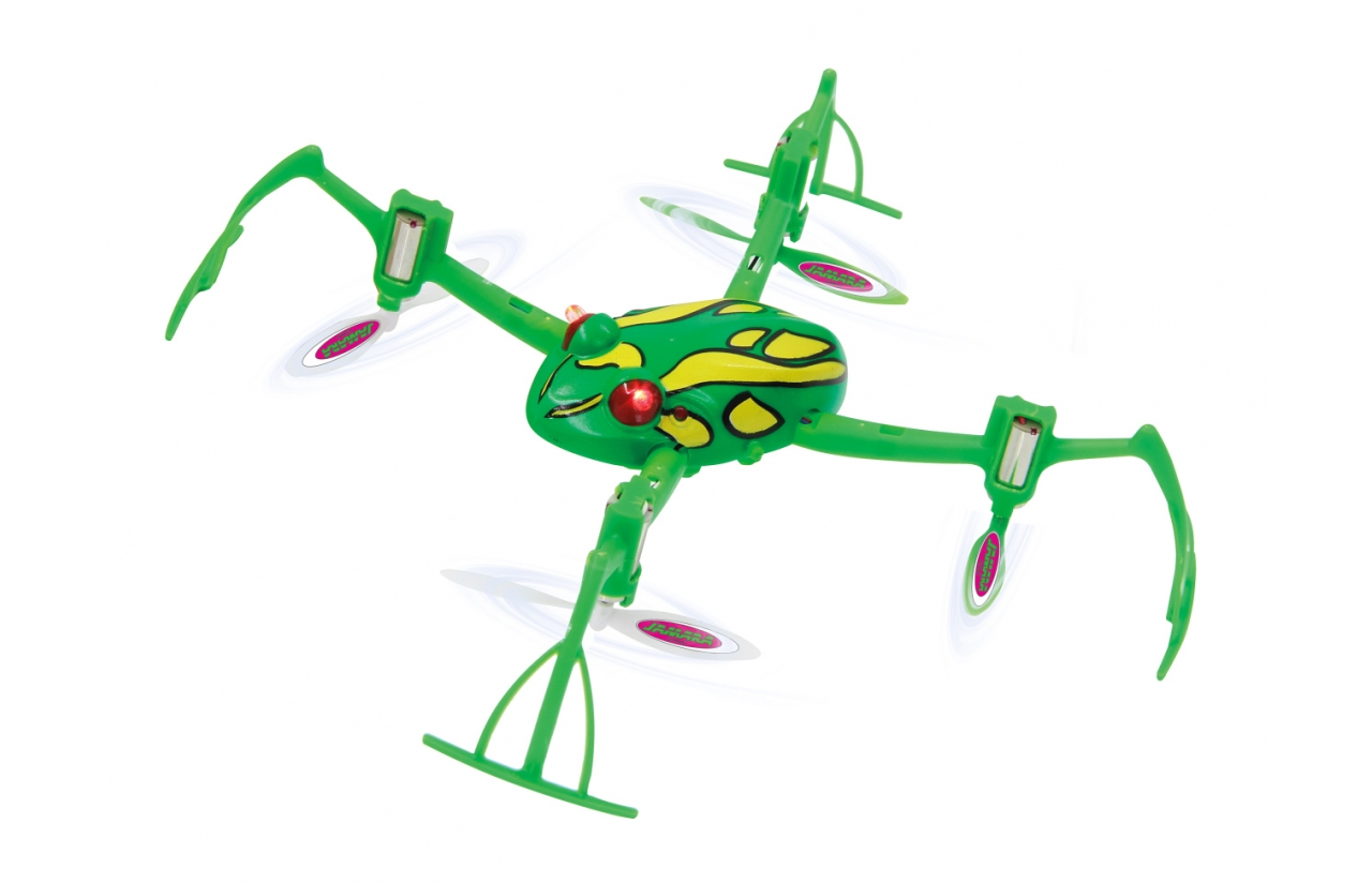 JAMARA Drone Loony Frog 3D, Flyback, 6 Axis, 360 flips, turbo, LED - JAMARA 18579