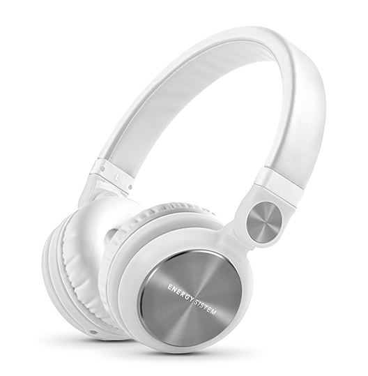 ENERGY SISTEM headphones DJ2, 180° rotation, 40mm, 108dB, λευκό - ENERGY SISTEM 18633