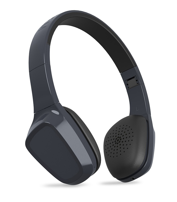 ENERGY SISTEM Bluetooth headphones 1 με μικρόφωνο, 40mm, 93dB, γκρί - ENERGY SISTEM 18646