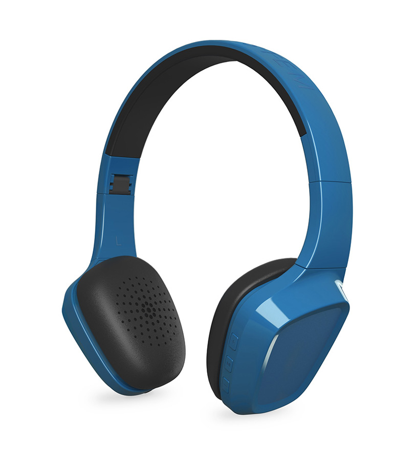 ENERGY SISTEM Bluetooth headphones 1 με μικρόφωνο, 40mm, 93dB, μπλε - ENERGY SISTEM 18647