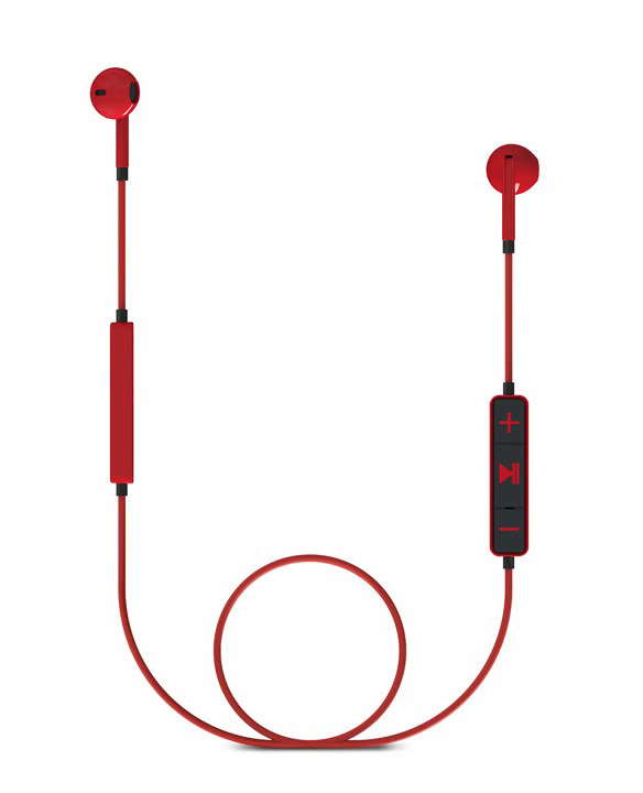 ENERGY SISTEM Bluetooth earphones 1 με μικρόφωνο, κόκκινο - ENERGY SISTEM 18631
