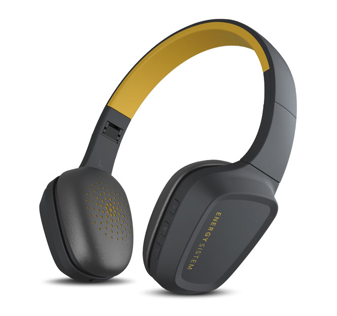 ENERGY SISTEM Bluetooth headphones 3 με μικρόφωνο, 40mm, κίτρινο - ENERGY SISTEM 18644