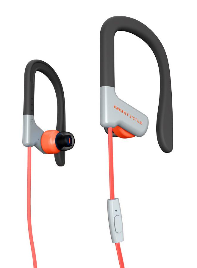 ENERGY SISTEM earphones Sport 1 με μικρόφωνο, κόκκινο - ENERGY SISTEM 18619