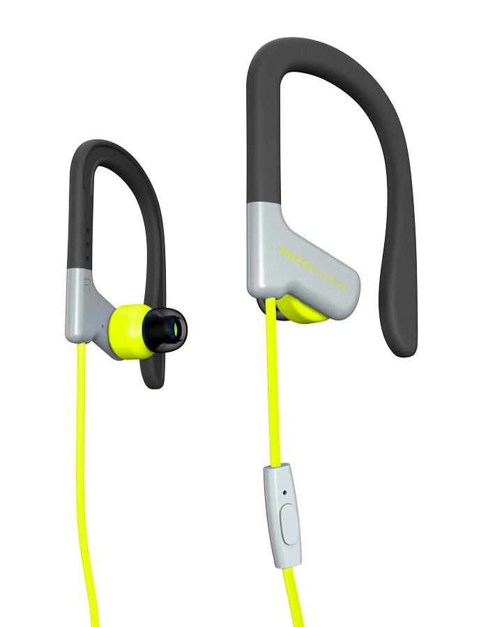 ENERGY SISTEM earphones Sport 1 με μικρόφωνο, κίτρινο - ENERGY SISTEM 18618