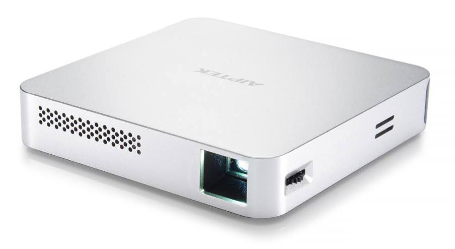 AIPTEK Projector MobileCinema i70 430061, Wi-Fi Miracast, HDMI, ασημί - AIPTEK 27470