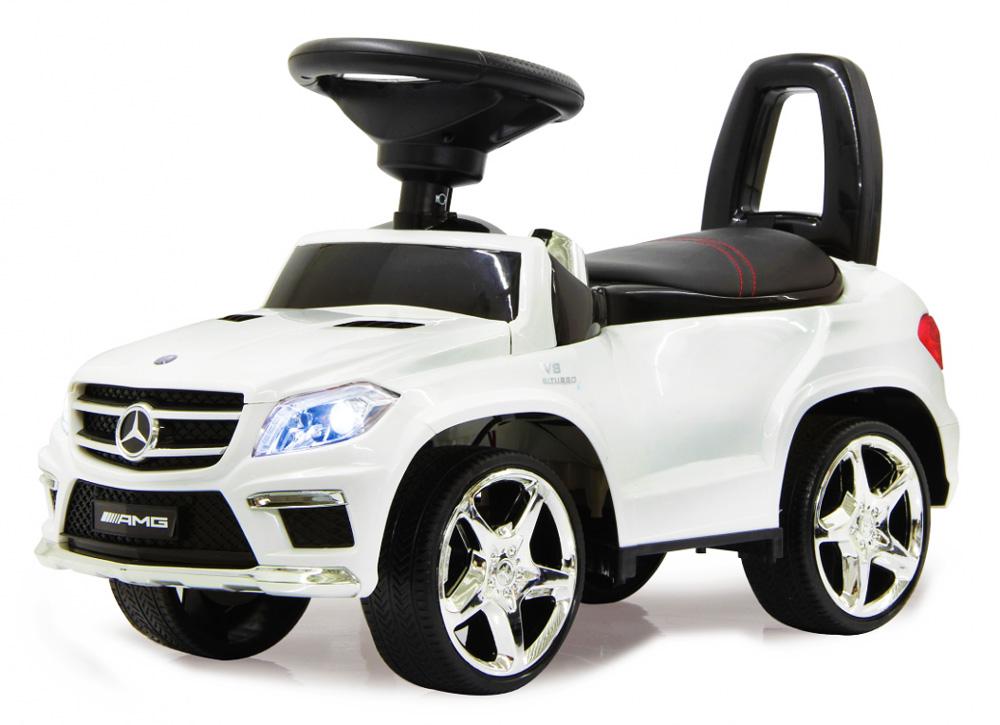 JAMARA Push Αυτοκίνητο Mercedes GL63 AMG, 2 σε 1, λευκό - JAMARA 23703