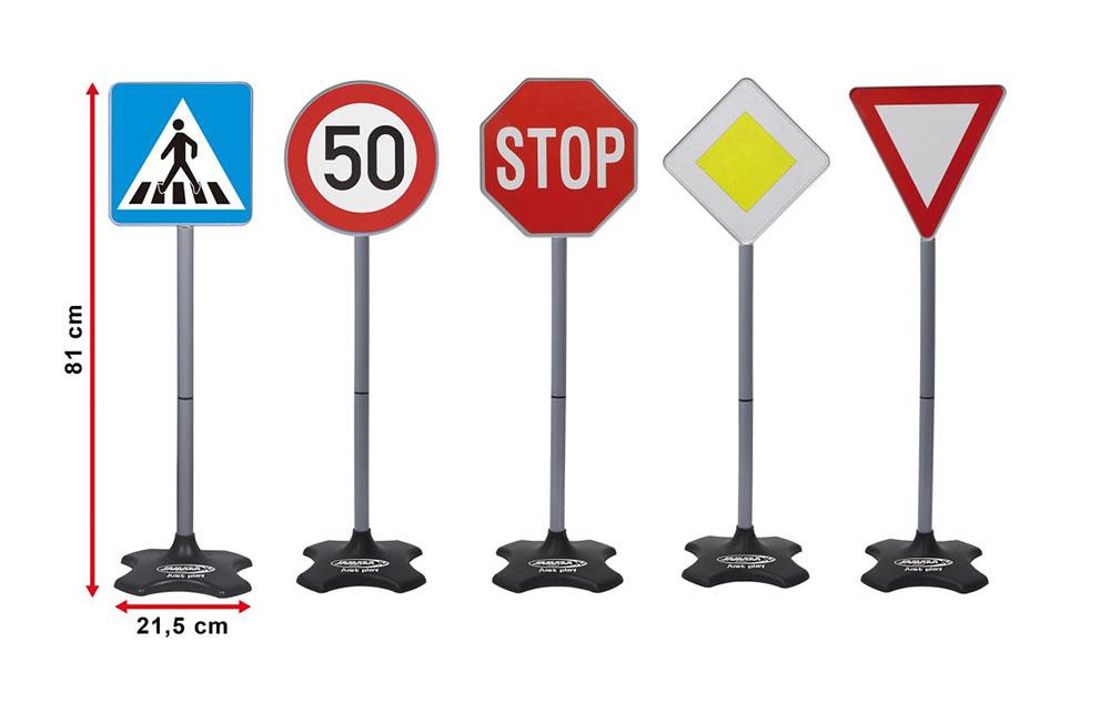 JAMARA Σετ σήμανσης οδικής κυκλοφορίας 460257, 5 τμχ - JAMARA 22540