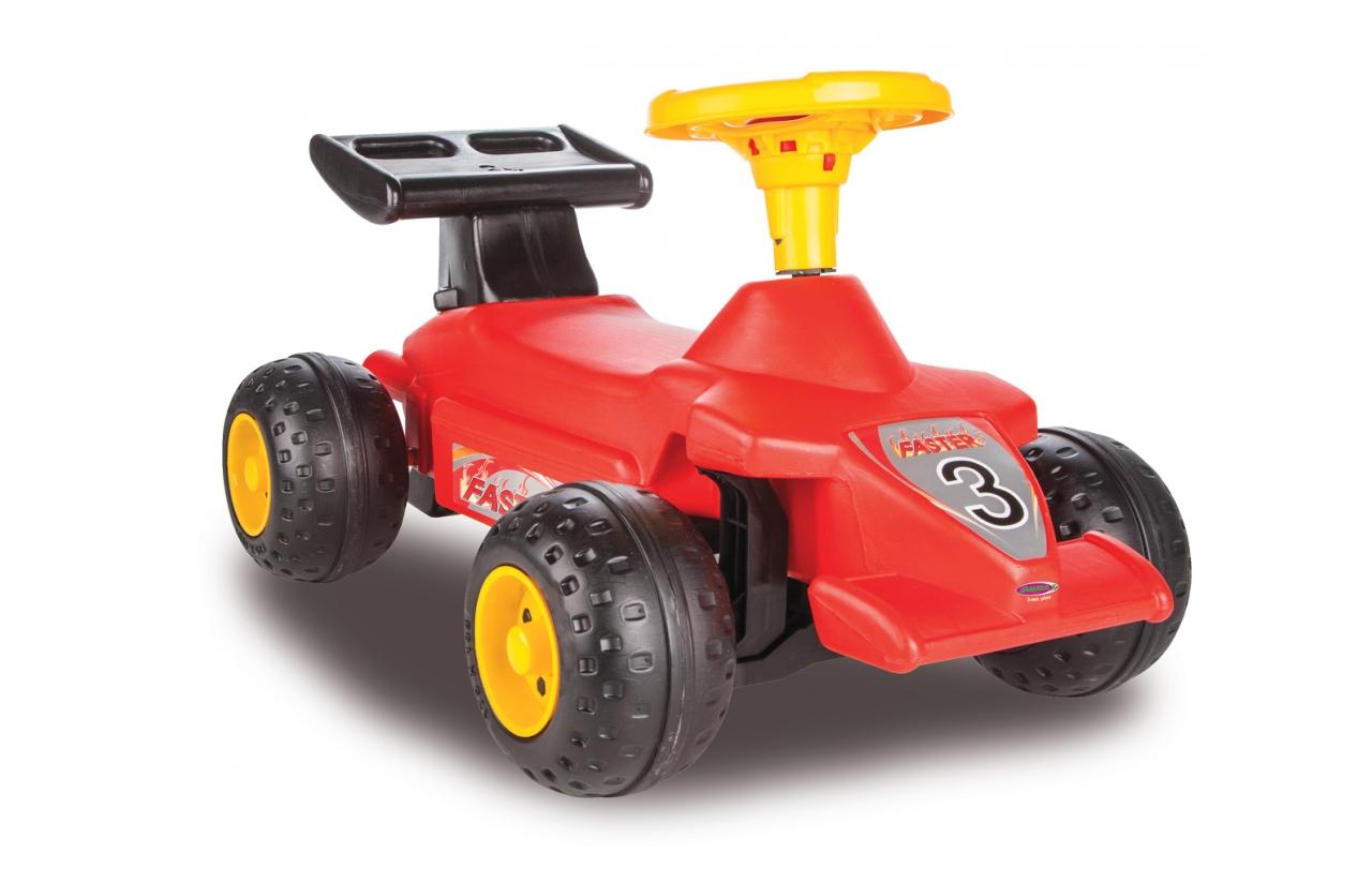 JAMARA Push & Hold Αυτοκίνητο Formula, κόκκινο - JAMARA 18585