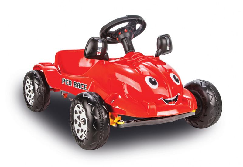 JAMARA Παιδικό Αυτοκίνητο Ped Race με πετάλια, κόκκινο - JAMARA 18583