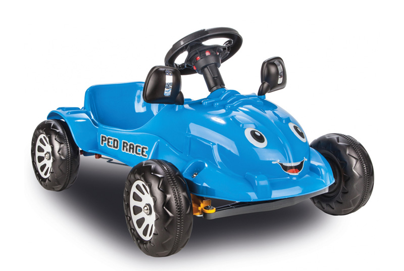 JAMARA Παιδικό Αυτοκίνητο Ped Race με πετάλια, μπλε - JAMARA 18584