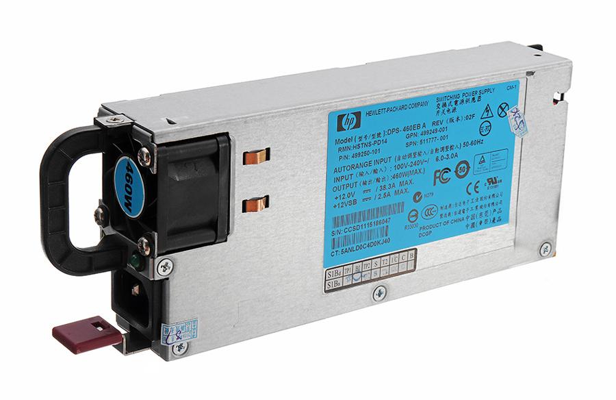HP used PSU 499250-101 για DL385 G6/DL380 G6, 460W - HP 22741