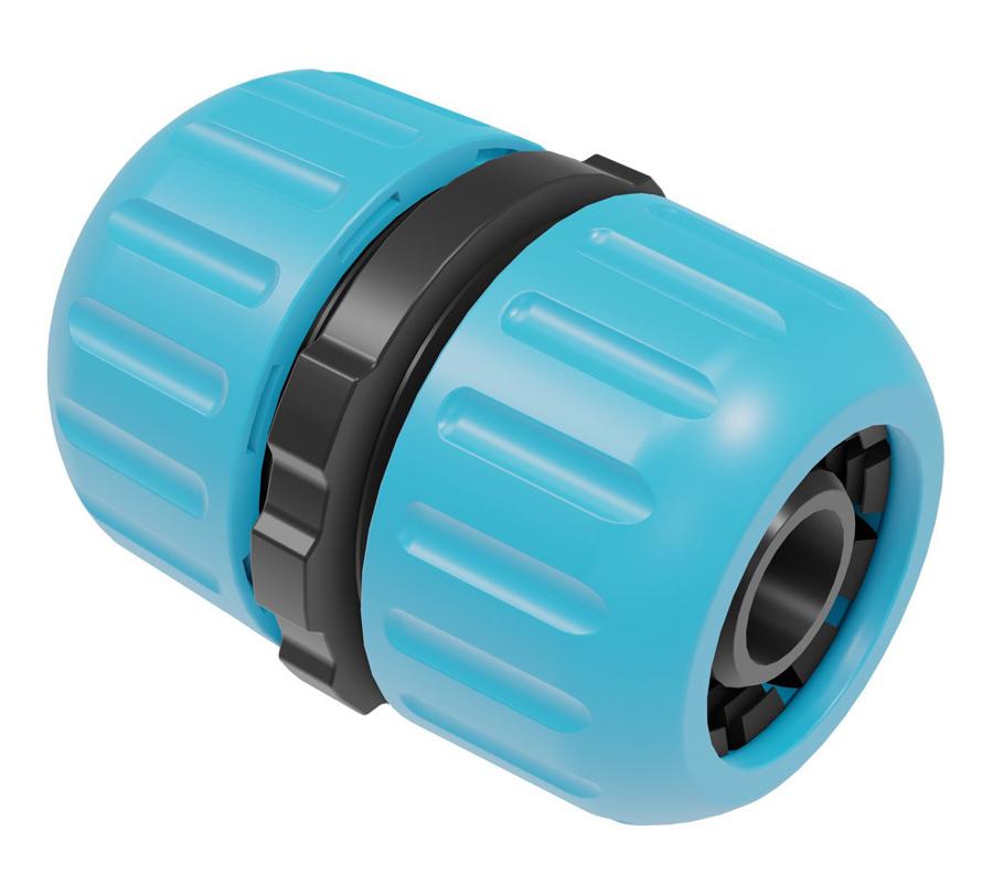 "CELLFAST σύνδεσμος ένωσης λάστιχων 50-100, 1/2"", 5/8"", ABS, μπλε - CELLFAST 36966"