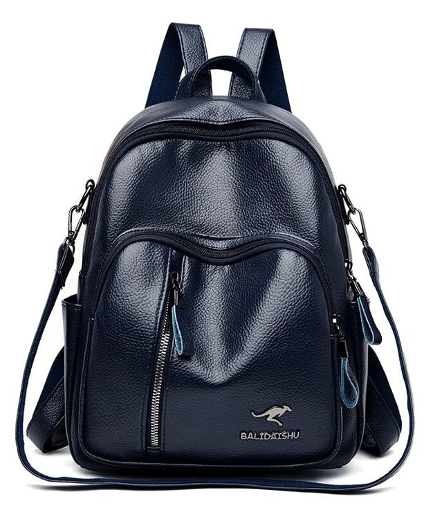 BALIDAISHU γυναικεία τσάντα πλάτης 1319-BLUE, μπλε - BALIDAISHU 40199