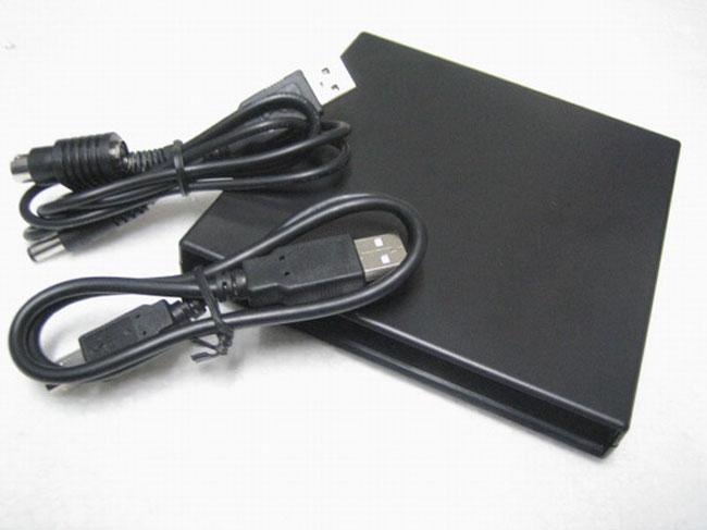 Slim Portable Optical Drive, DVD-RW 6x, Blu-ray, USB 2.0 - UNBRANDED 8086