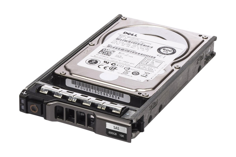 "DELL used SAS HDD 5R6CX, 600GB 6G 10K, 2.5"" με Tray - DELL 12124"