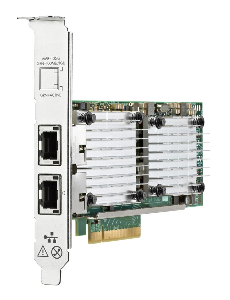HP used Server Ethernet Adapter 656596-B21, 10Gbps, 2-port 530T - HP 22740