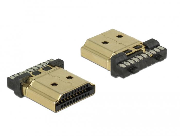 DELOCK Connector HDMI-A, male - DELOCK 18464