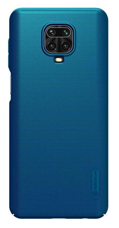 NILLKIN θήκη Super Frost Shield για Xiaomi Note 9 Pro & Max/9s, μπλε - NILLKIN 37097
