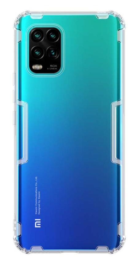 NILLKIN θήκη Nature για Xiaomi 10 Lite 5G, διάφανη - NILLKIN 37117