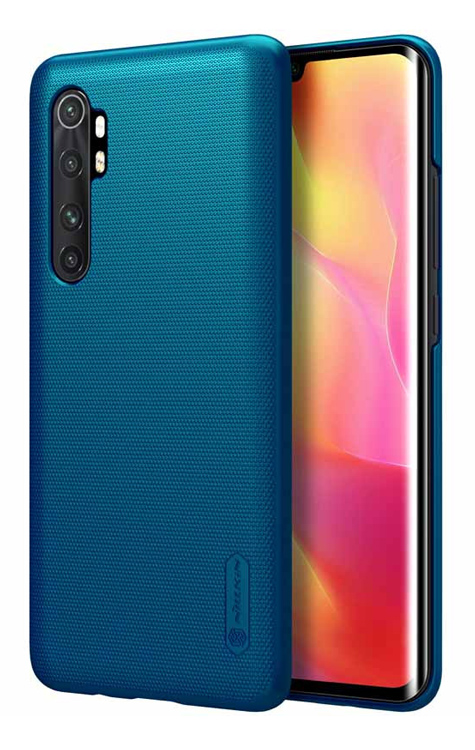 NILLKIN θήκη Super Frost Shield για Xiaomi Note 10 Lite, μπλε - NILLKIN 37099