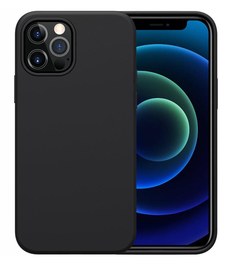 NILLKIN θήκη Flex Pure για Apple iPhone 12/12 Pro, μαύρη - NILLKIN 37129