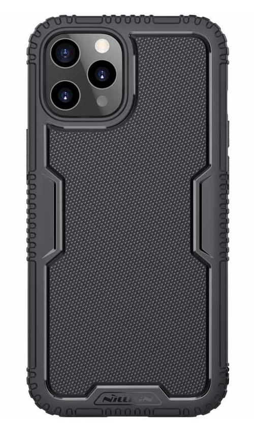 NILLKIN θήκη Tactics TPU για Apple iPhone 12/12 Pro, μαύρη - NILLKIN 37122