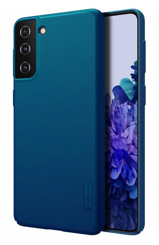 NILLKIN θήκη Super Frost Shield για Samsung Galaxy S21+, μπλε - NILLKIN 37093