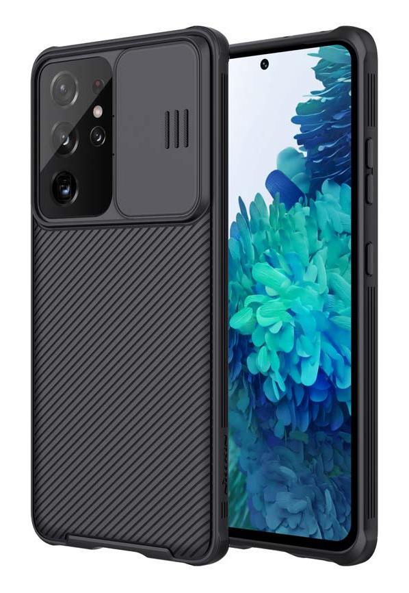 NILLKIN θήκη CamShield Pro για Samsung Galaxy S21 Ultra, μαύρη - NILLKIN 37124