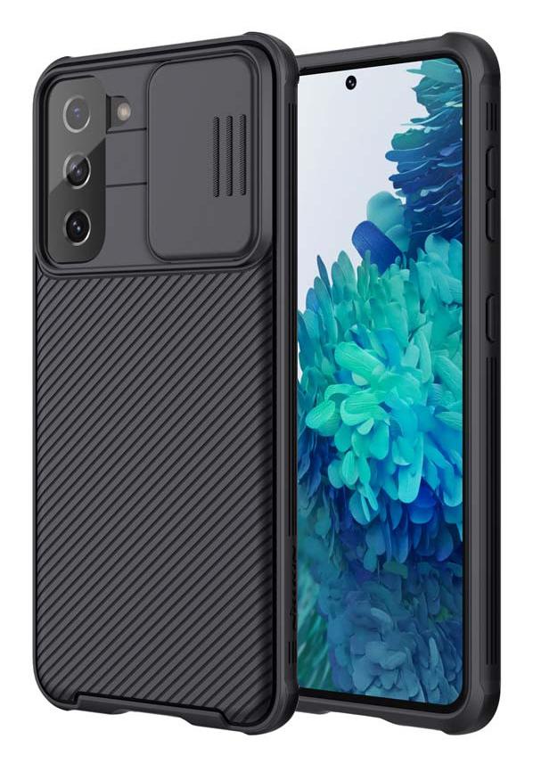 NILLKIN θήκη CamShield Pro για Samsung Galaxy S21+, μαύρη - NILLKIN 37125