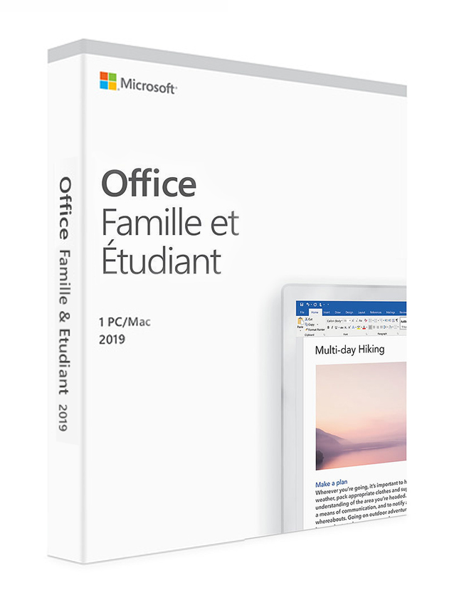 MICROSOFT Office Home and Student 2019 79G-05088, medialess, EU - MICROSOFT 26186