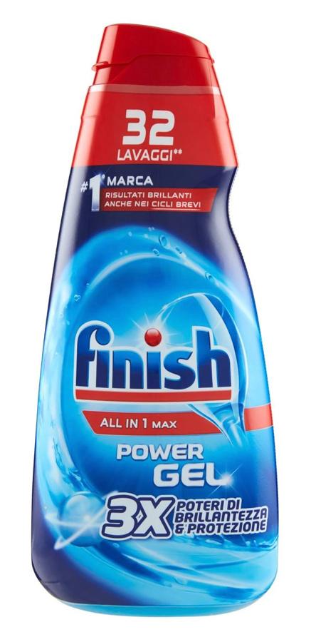 FINISH απορρυπαντικό πλυντηρίου πιάτων all in 1 Max Gel, 650ml - FINISH 31170