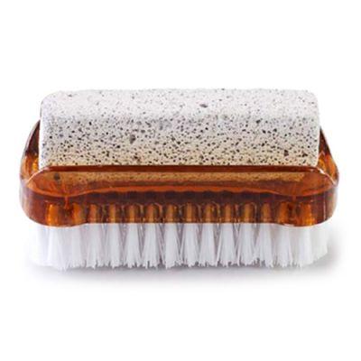 AQUA MASSAGE Βουρτσάκι καθαρισμού & απολέπισης ποδιών, καφέ - AQUA MASSAGE 39798