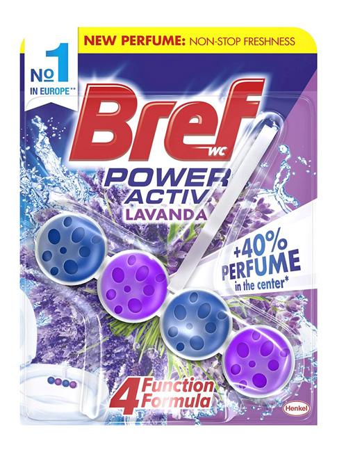 BREF αρωματικό τουαλέτας Power Activ, Lavanda, 50gr - BREF 30615