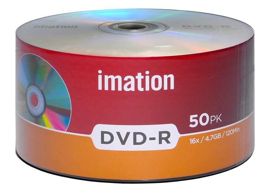 ΙΜΑΤΙΟΝ DVD-R 907WEDRIMX014, 4.7GB/120min, 16x speed, Cake 50 - IMATION 29171