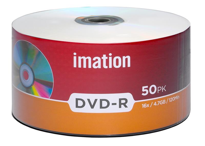ΙΜΑΤΙΟΝ DVD-R 907WEDRIMX015, 4.7GB/120min, 16x speed, printable, Cake 50 - IMATION 29172