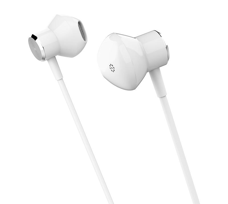 CELEBRAT Earphones με μικρόφωνο A13-WH, Bluetooth, με μαγνήτη, λευκά - CELEBRAT 25689