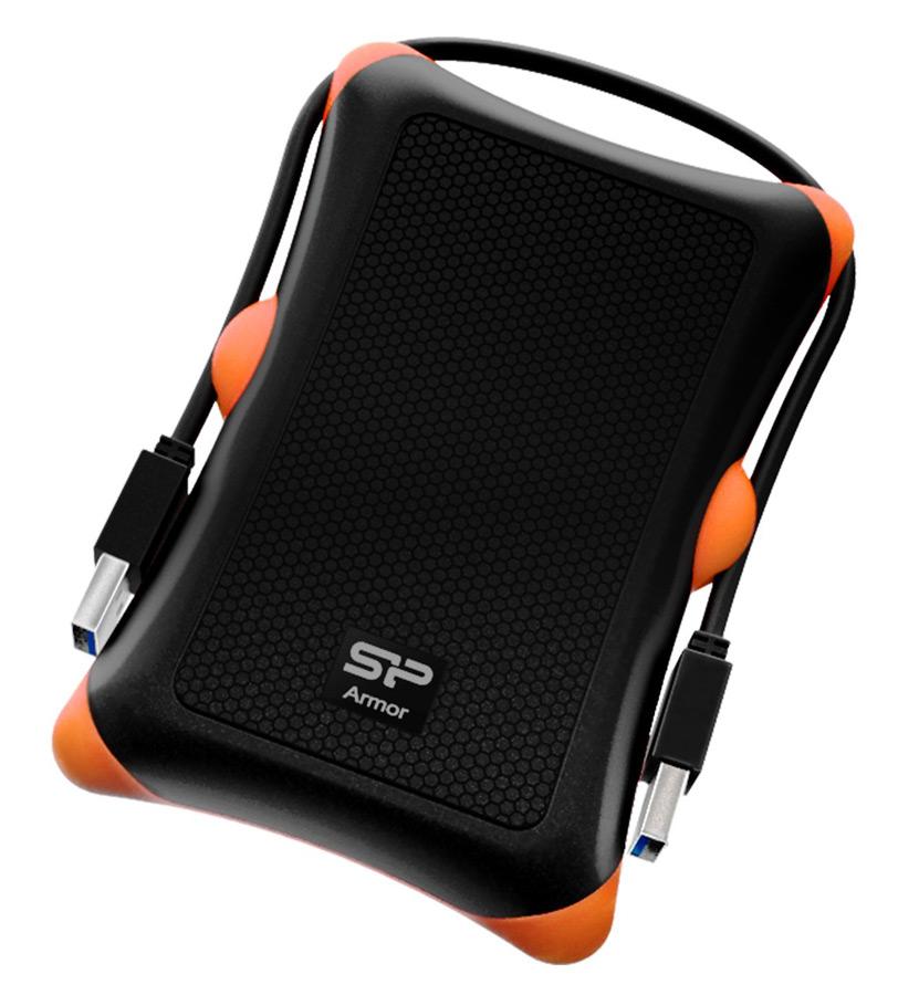 SILICON POWER εξ. HDD, USB 3.0, 1TB, BLACK αντικραδασμικό-αδιάβροχο - SILICON POWER 8689