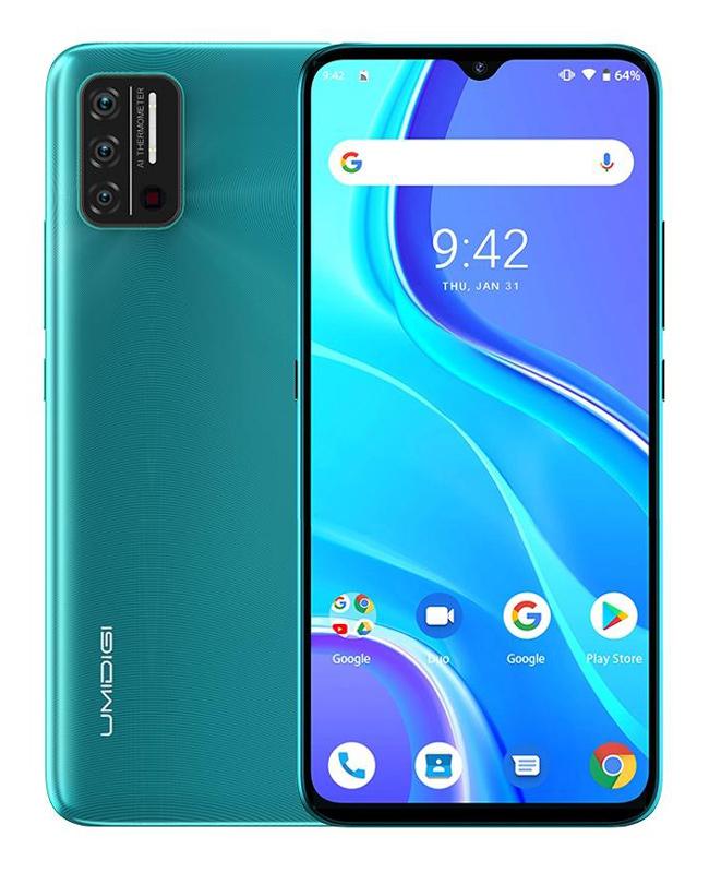 """UMIDIGI Smartphone A7S, 6.53"""", 2/32GB, Android 10 Go Edition, πράσινο - UMIDIGI 34183"""