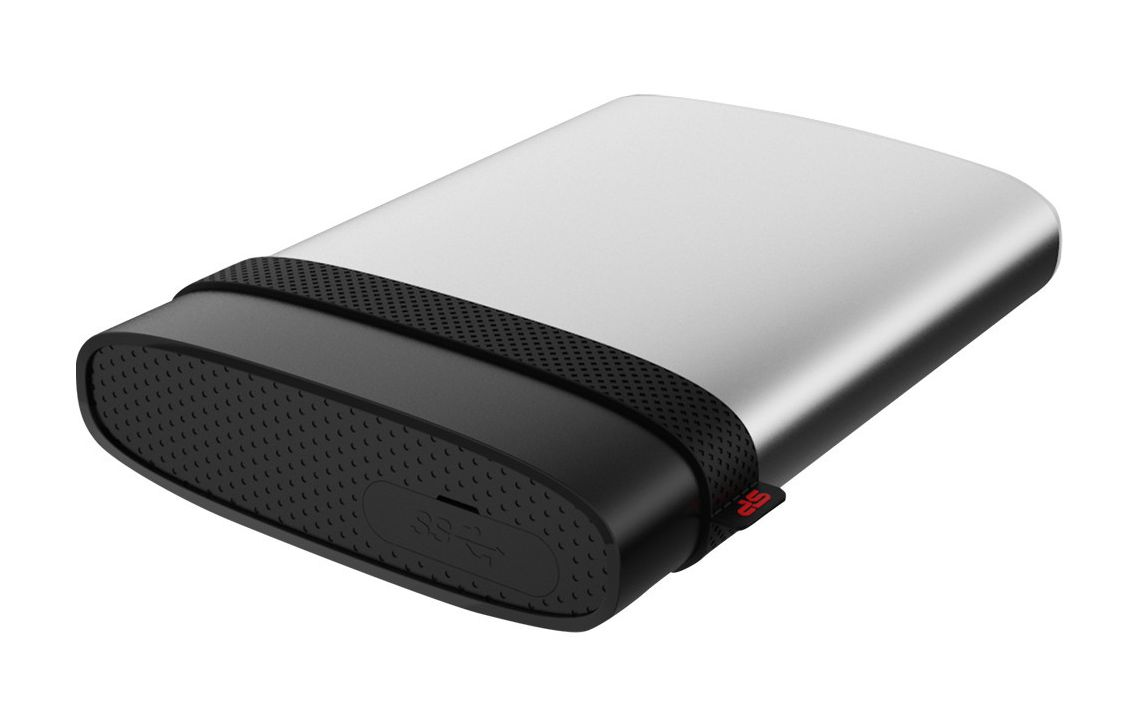 SILICON POWER ext. HDD A85, 1TB, IP68, Silver - SILICON POWER 7216