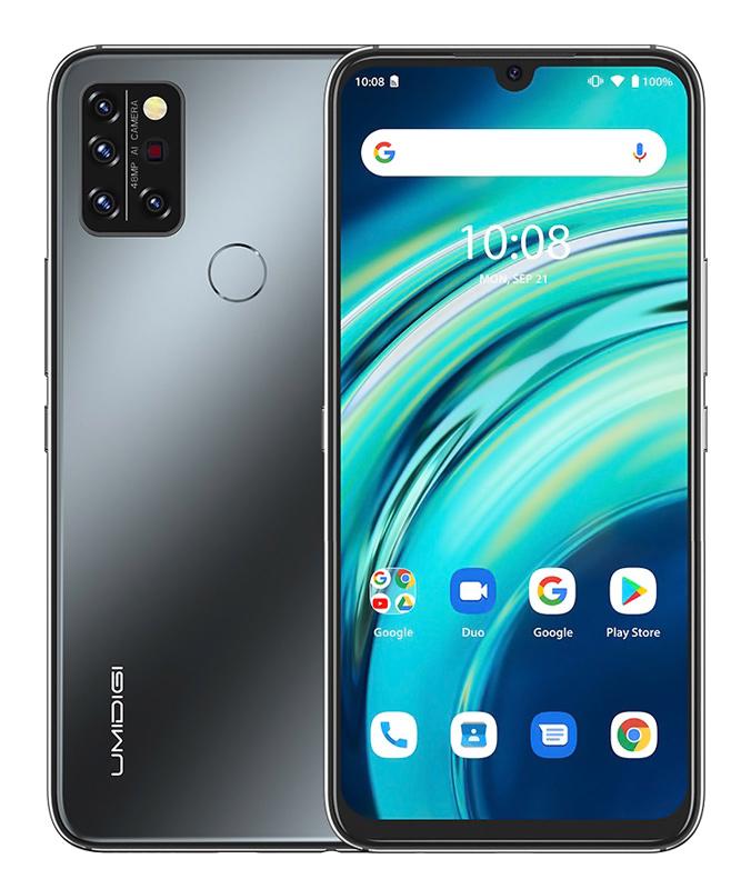 "UMIDIGI Smartphone A9 Pro, 6.3"" FHD+, 6/128GB, 48MP SONY, μαύρο - UMIDIGI 35677"