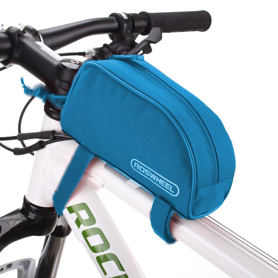 ROSWHEEL Τσάντα ποδηλάτου με ιμάντες πρόσδεσης, Blue - ROSWHEEL 14928